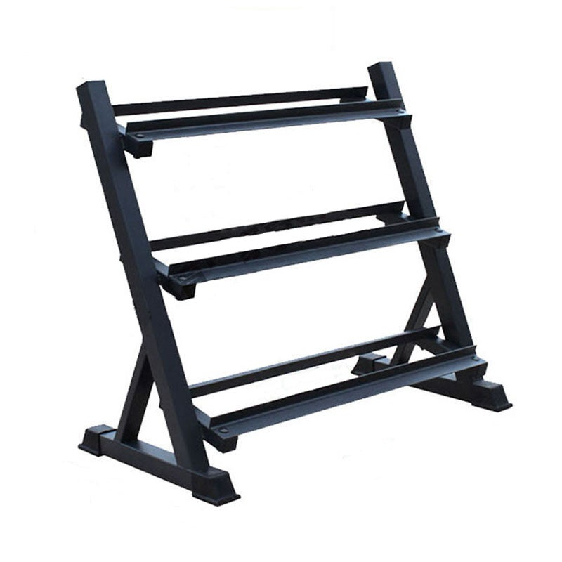Heavy Duty 3 Tier Dumbbell Rack Storage Racking Adjustable Space Saving Home Gym 300KG