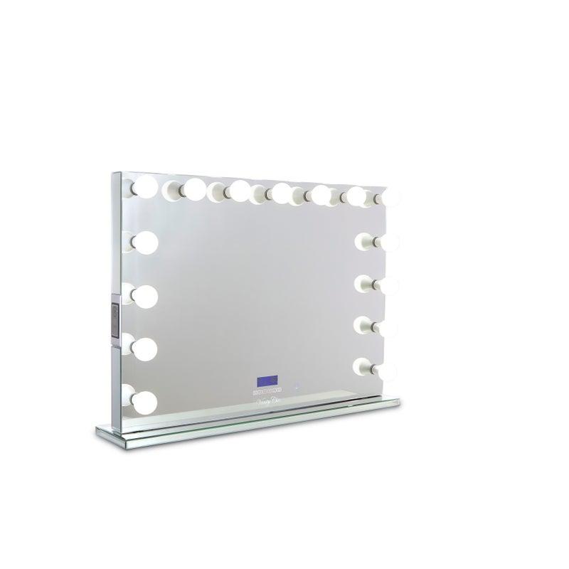 Bluetooth Speaker Vanity Mirror, Hollywood Vanity Mirror Frameless