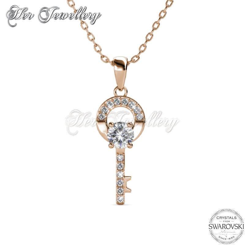 Camilia Key Pendant (Rose Gold)