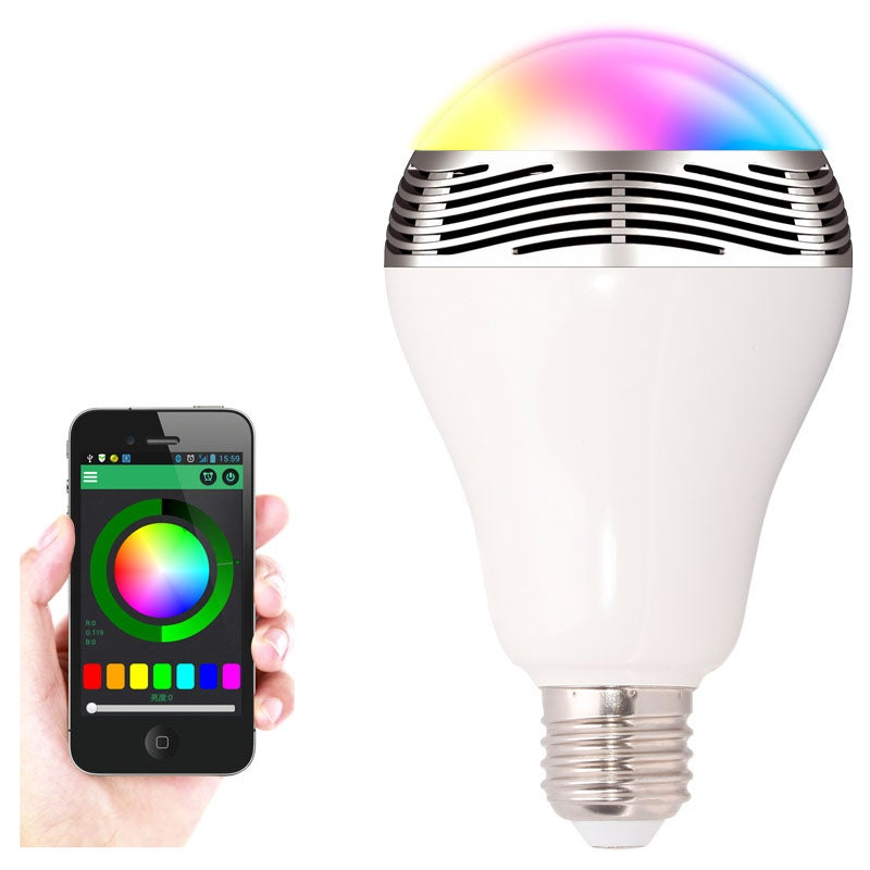 LED Bulb with Bluetooth and Built-In Speaker