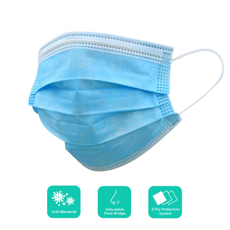 Disposable Protective Face Mask (Pack of 10)