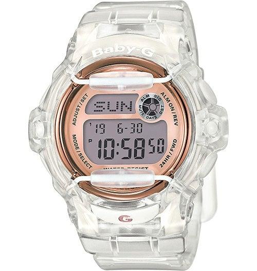 Casio Baby-G Female Beachside Transparent Digital Watch BG169G-7B BG-169G-7BDR