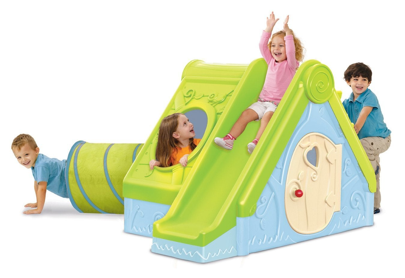 Keter Kids Outdoor Funtivity Cubby Playhouse