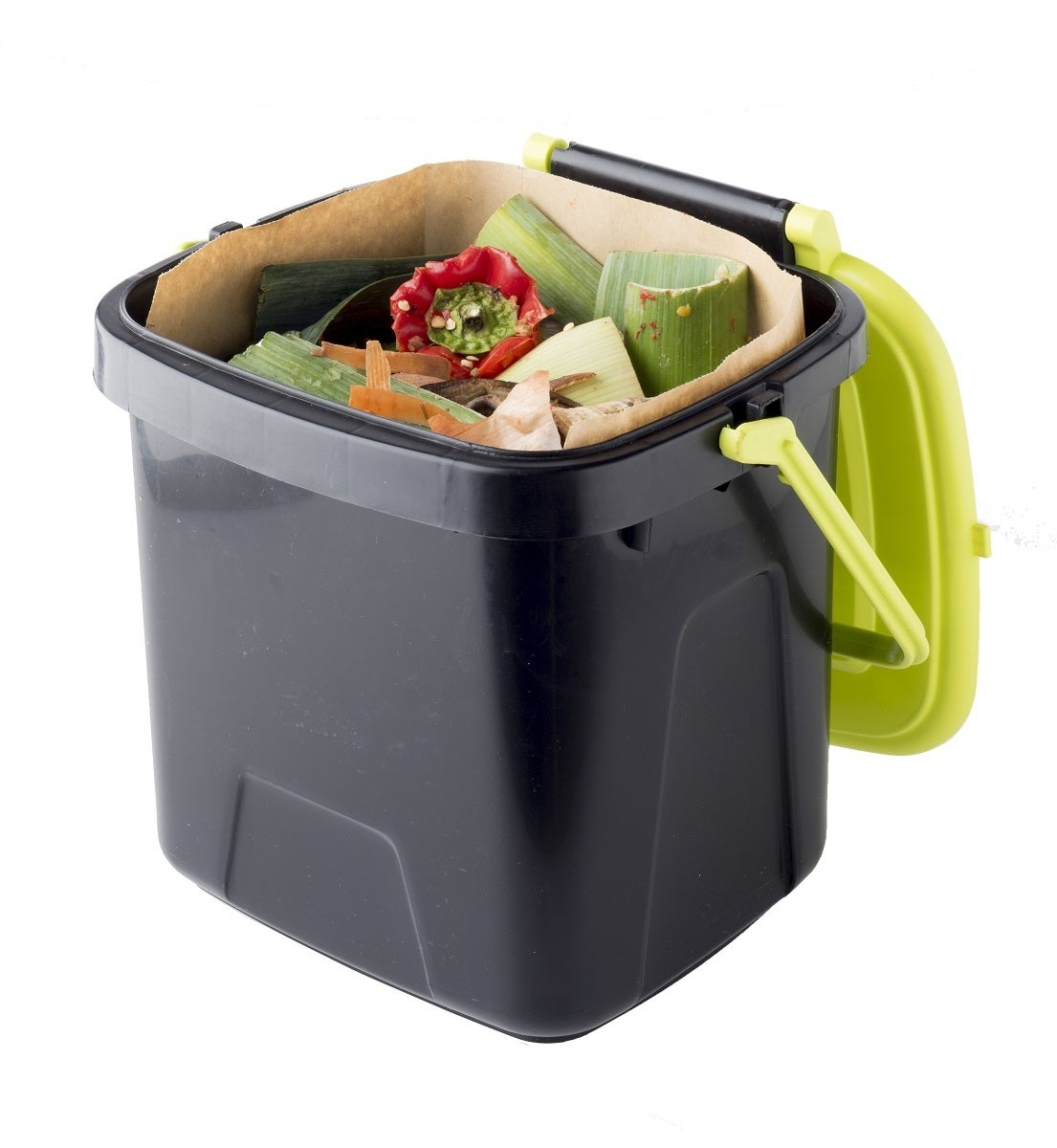 Maze 7lt Compost Caddy with Biodegradable Bags x 15