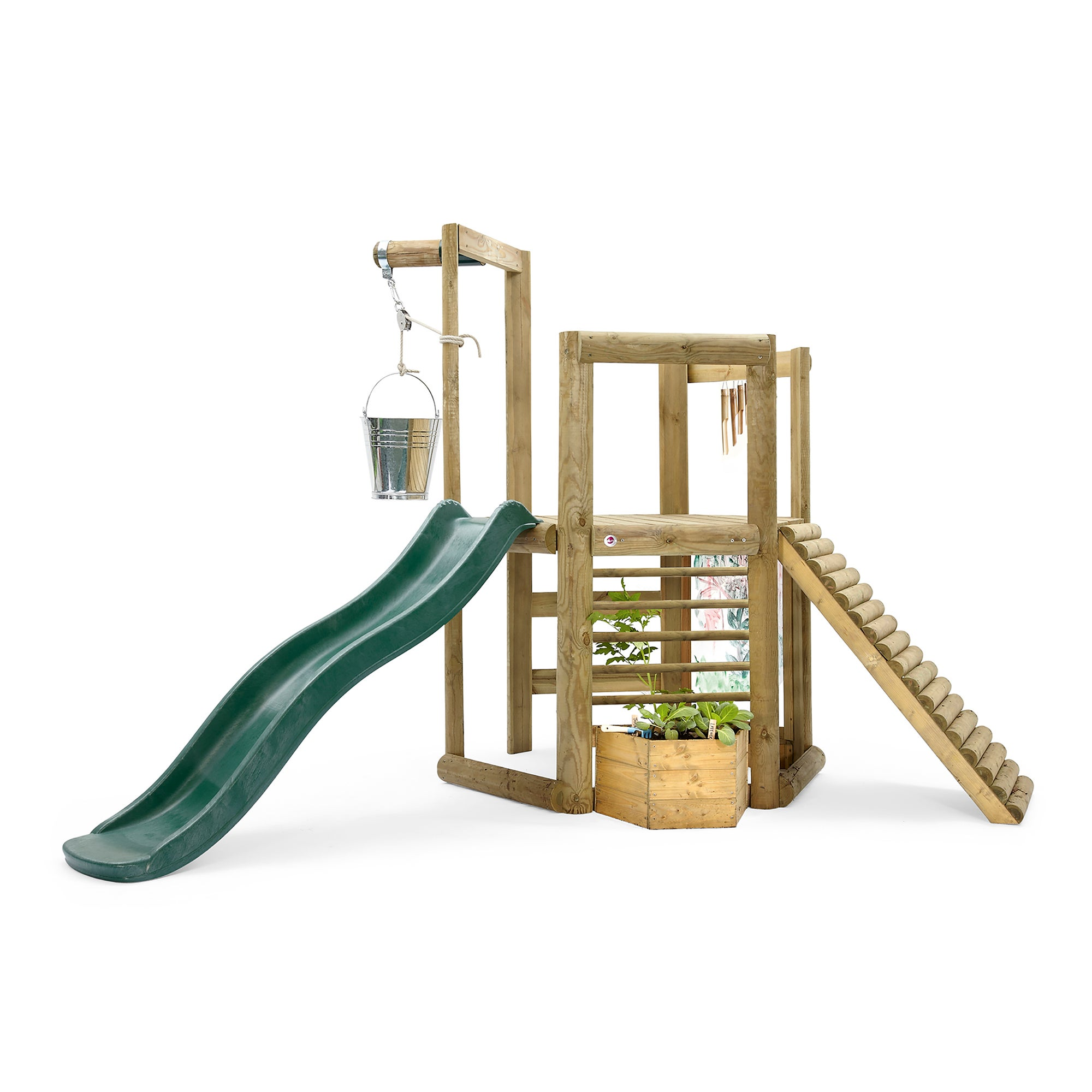 Plum Play Play Discovery Woodland Treehouse with Slide