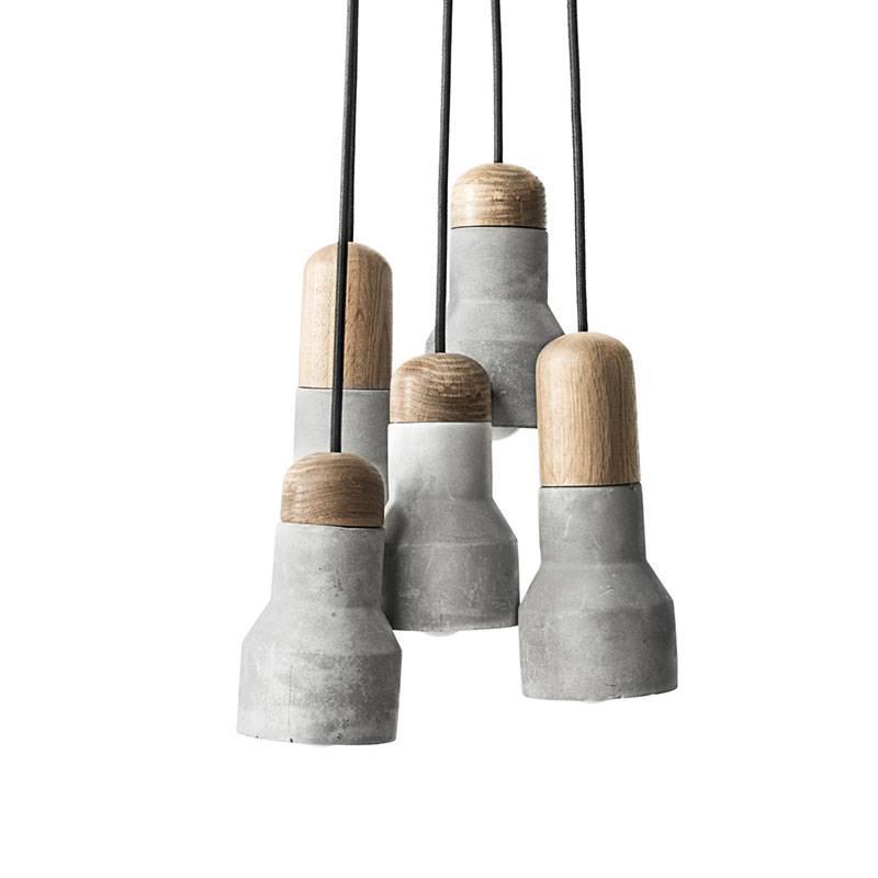 Kira Concrete Pendant Chandelier Ceiling Light