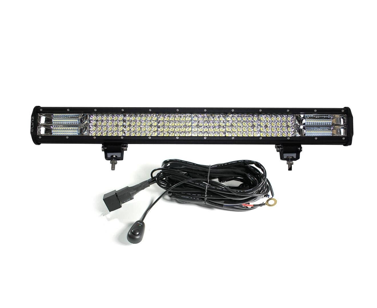 """Elinz 26"""" 4 Rows LED Light Bar Philips Work Driving Flood Spot Combo IP68 4WD Offroad"""