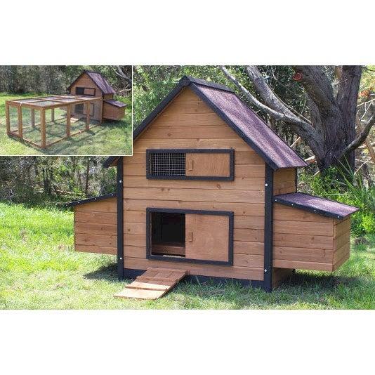 Brunswick Double Nest Box Chicken Coop