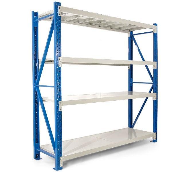 400kg 2.0m Garage Warehouse Storage Shelving Steel Tool Racking Office Shelves