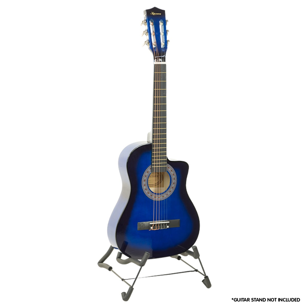New Blue Childrens Acoustic Guitar Ideal Kids Gift 1/2 Size