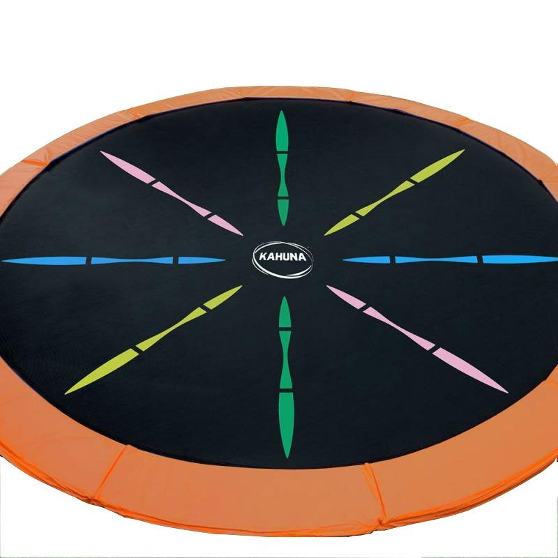 New Trampoline Replacement Spring Rainbow Mat Round 12ft