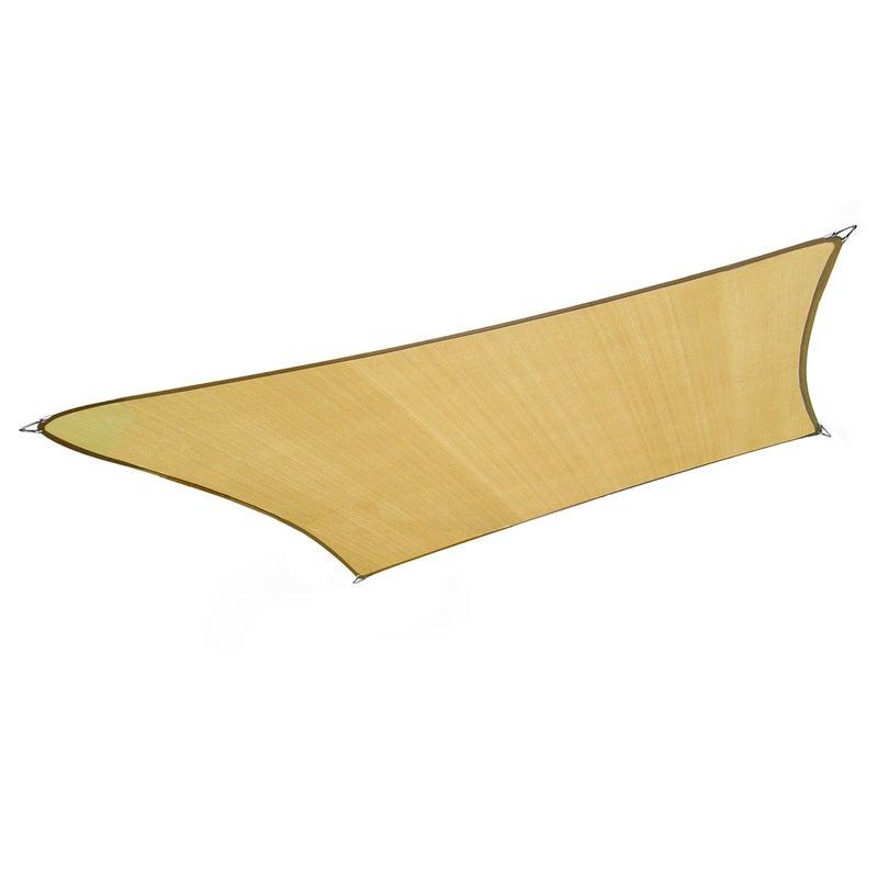 Wallaroo 3m X 5m Outdoor Sun Shade Sail Canopy - Sand Cloth Rectangle