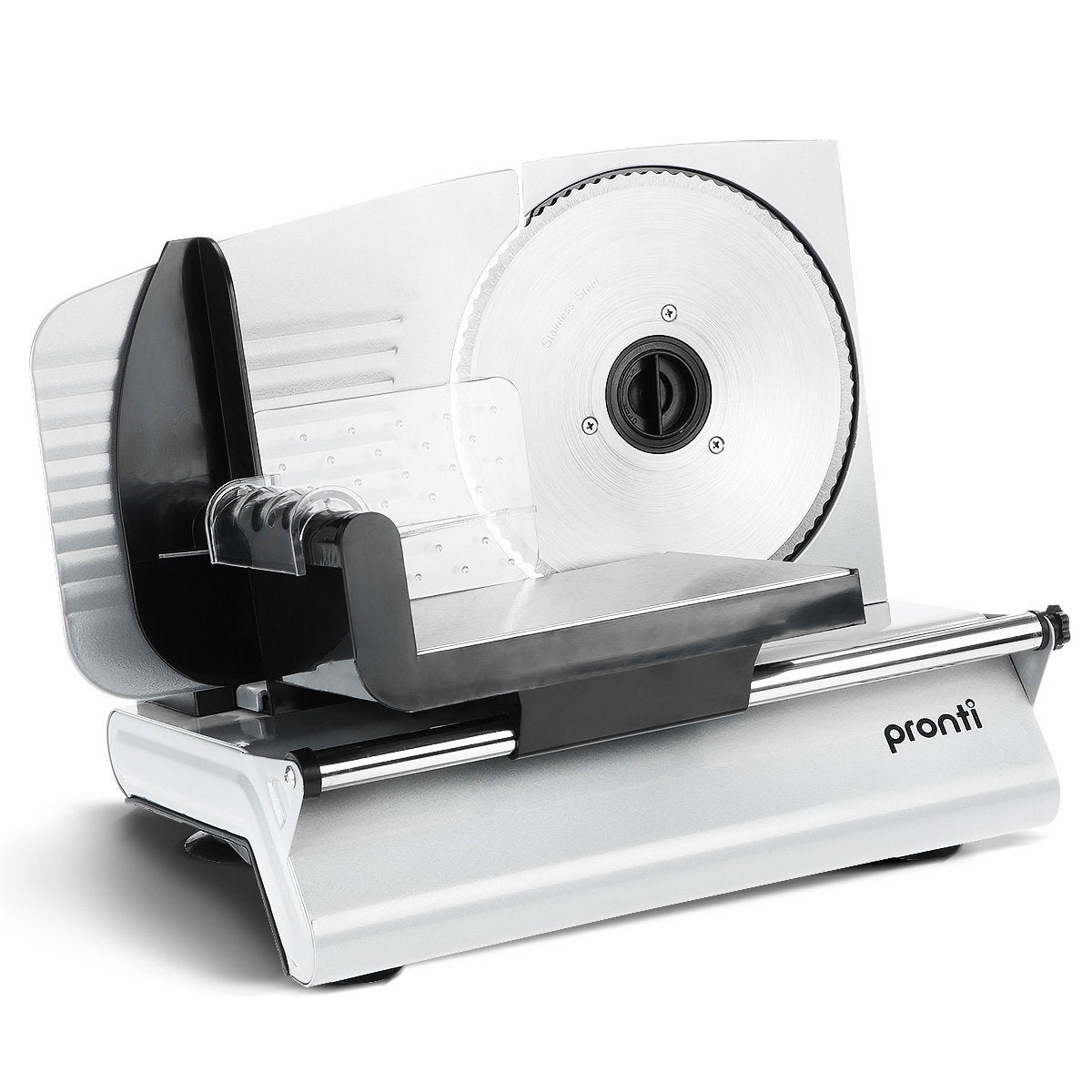 Pronti Electric Meat Slicer- Food Cheese Processor Vegetable 200W