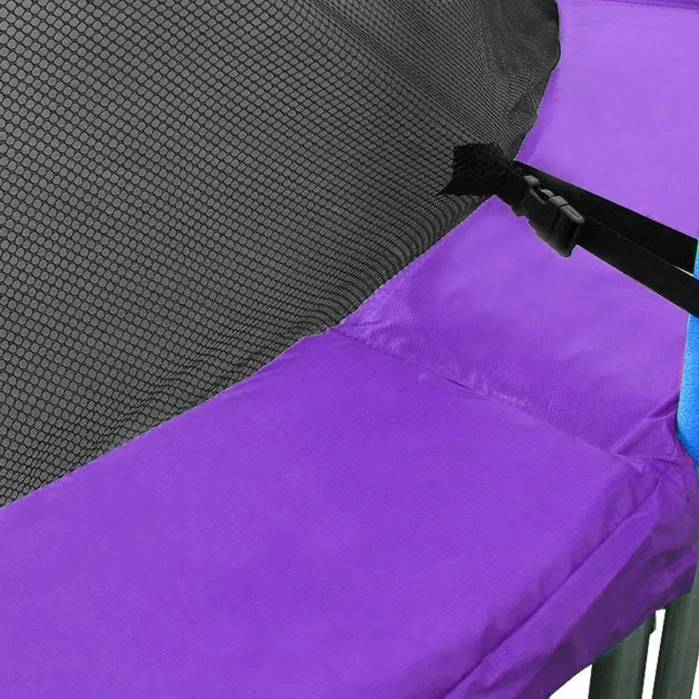 Replacement Trampoline Pad Outdoor Round Spring Cover Purple 6ft