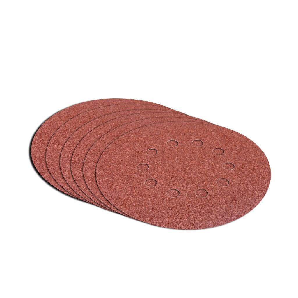 6 Pieces 10 Holes Sanding Discs Sander Paper For Drywall Sander 225