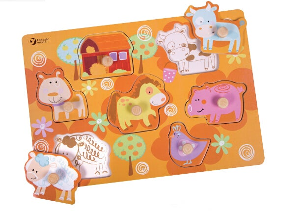 Farm Puzzle by Classic World