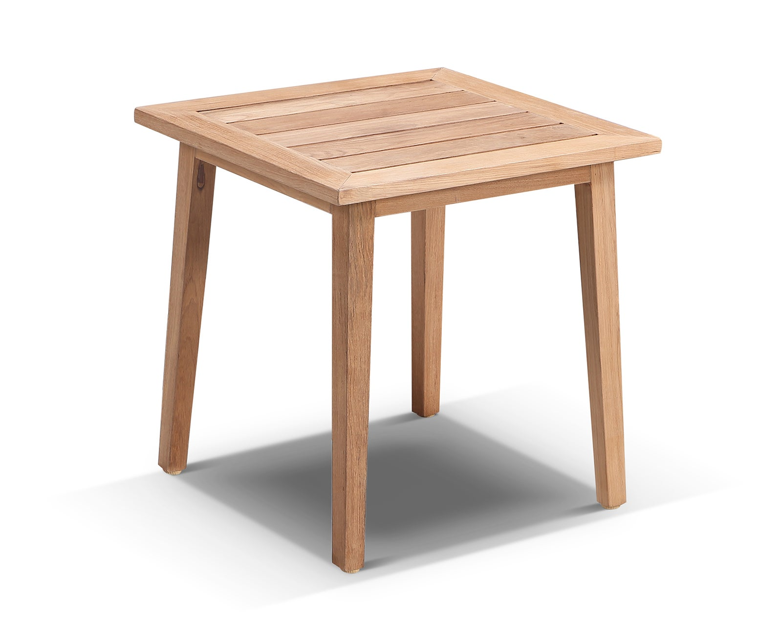 Hamilton Solid Teak Timber Outdoor Side Table