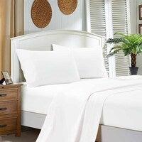 1000TC Ultra Soft 4-Piece King Size Sheet Set - White