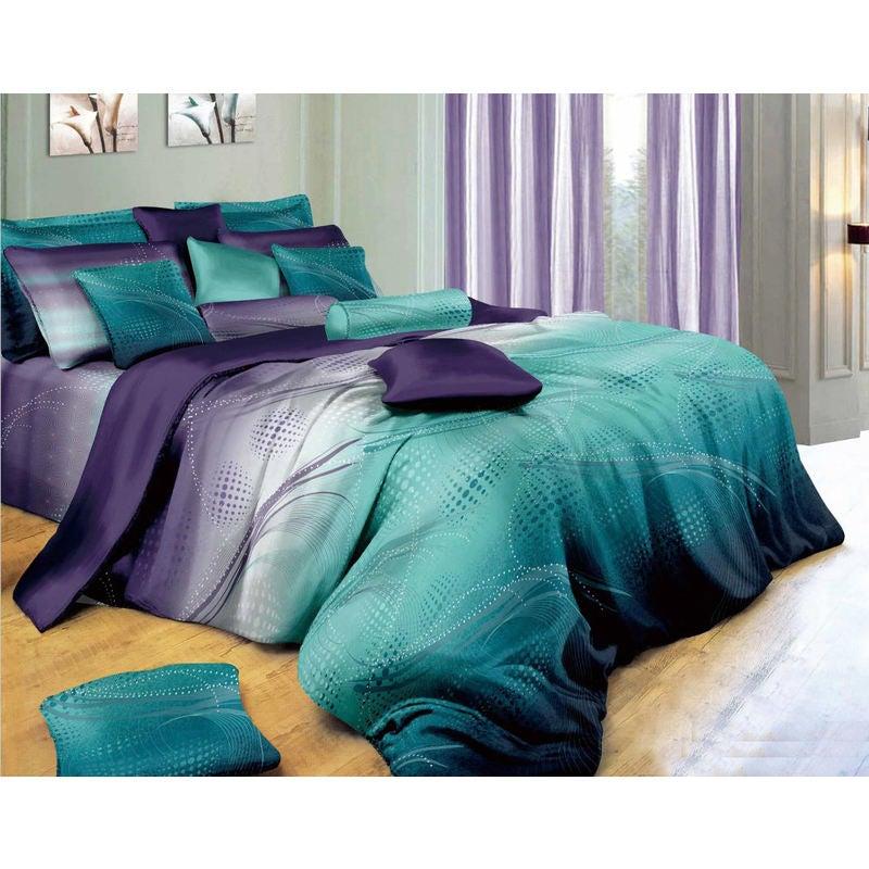 Vitara Super King Size Bed Quilt Doona Duvet Cover & Pillow Cases Set