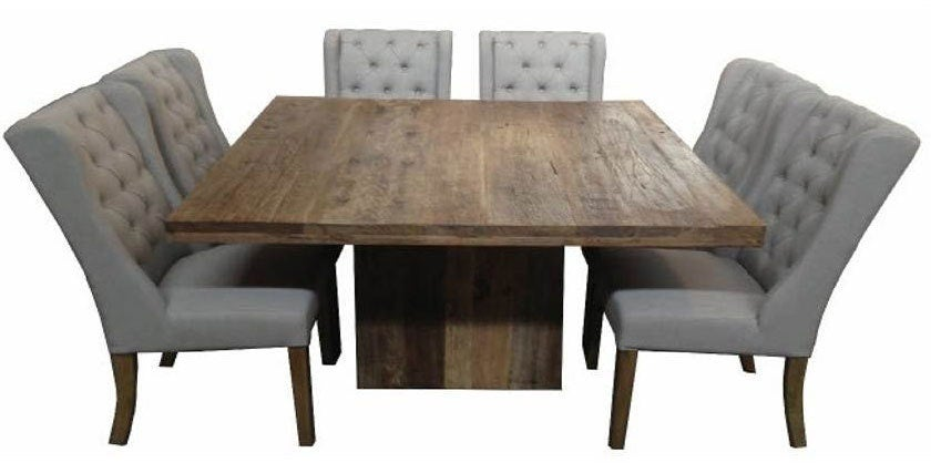 MF Flint Square Table