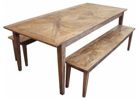 MF Parquetry Dining Bench