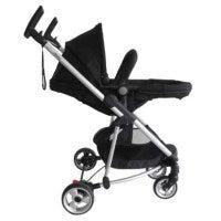 2 in 1 Westminster Baby Pram Stroller & Bassinet w/ Nappy Bag