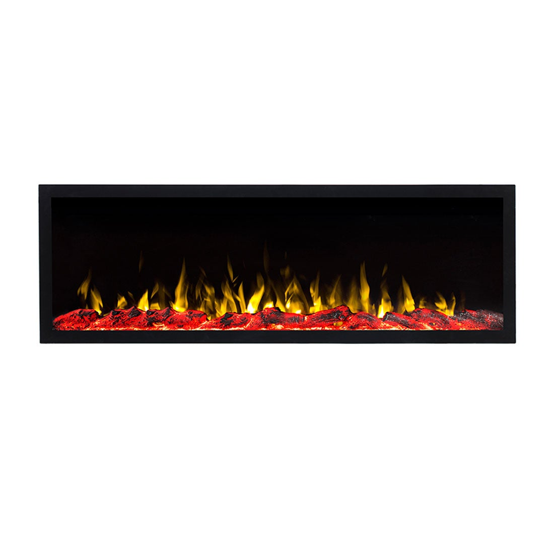 COMO 50 inch Built-in Recessed / Wall Mounted Electric Fireplace Decorative – No heat