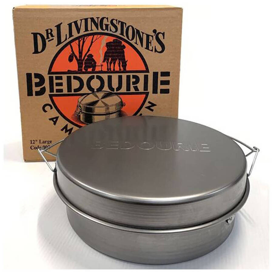 12'' Bedourie Camp Oven - Australian-made
