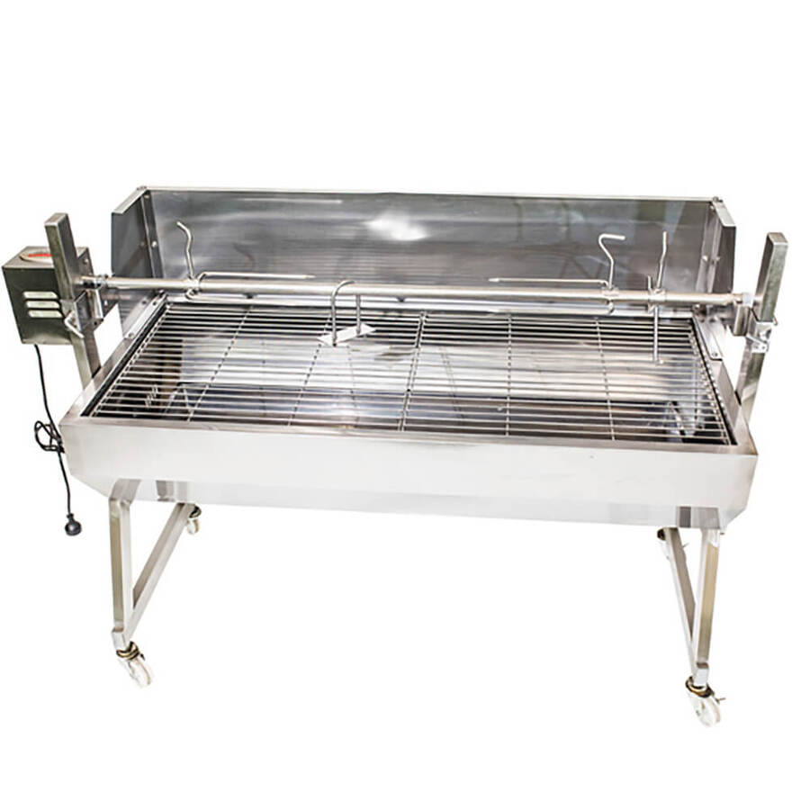 Stainless Steel Spartan Spit Roaster 1500 with 30kg motor