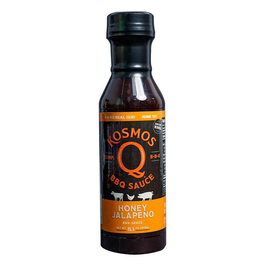 Kosmos Q Honey Jalapeno BBQ Sauce