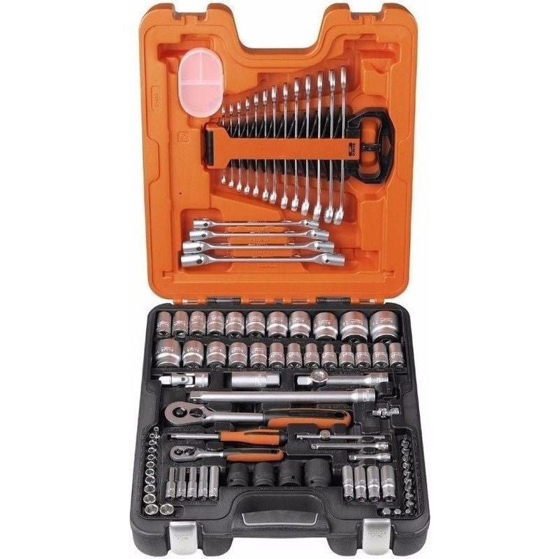 Bahco 94 Piece Socket and Spanner Combination Set