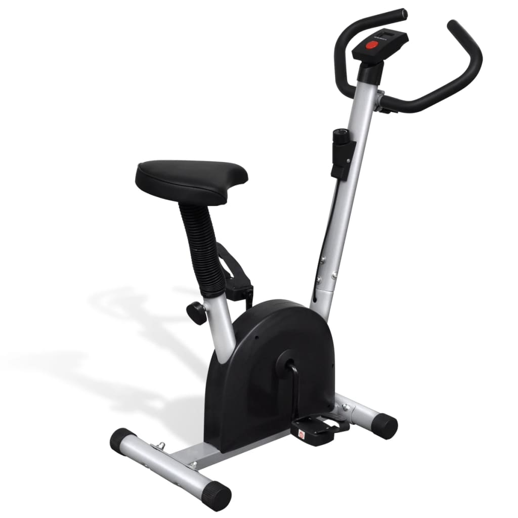 vidaXL Fitness Exercise Bike with Seat Home Gym Training Equipment Bicycle