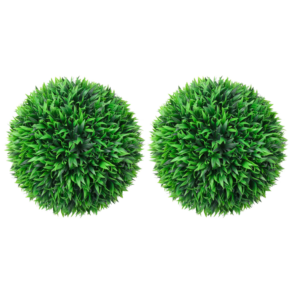 2x Artificial Boxwood Balls 47cm Garden Terrace Indoor Floral D��cor