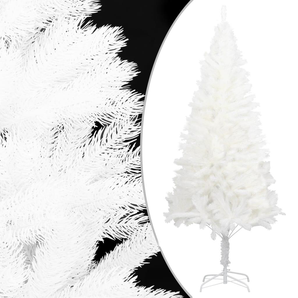 vidaXL Artificial Christmas Tree Lifelike Needles White 150cm Holiday Ornament