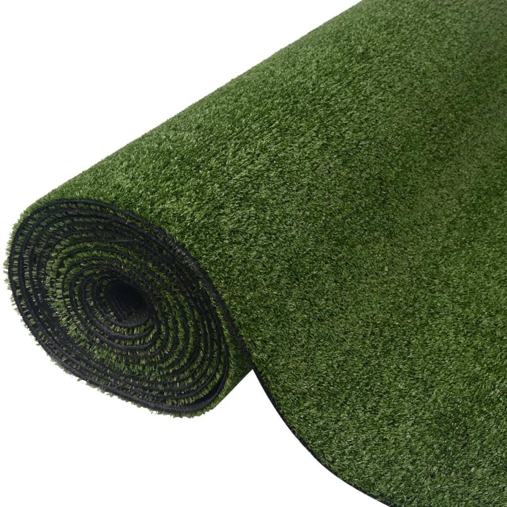 vidaXL Artificial Grass 0.5x5m 7-9mm Green Garden Material Fake Turf Lawn