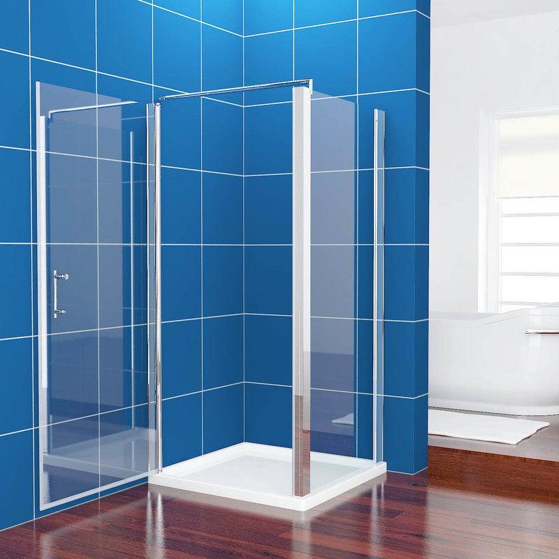 Pivot Glass Shower Screen Enclosure 800x800mm