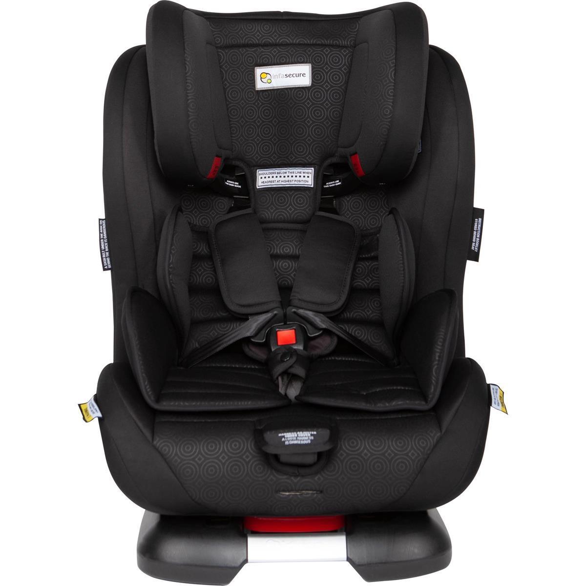 Infa Secure Luxi II Caprice Convertible Car Seat - Mini Swirl