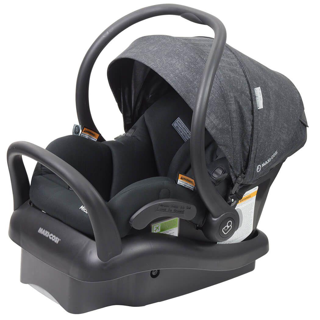 Maxi Cosi Mico Plus Baby Capsule - Nomad Black