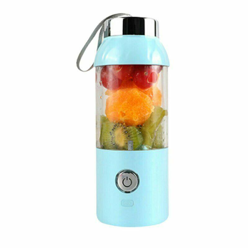 500ML Portable Juice Bottle Maker Cup Electrical Rechargeable Blender Travel USB