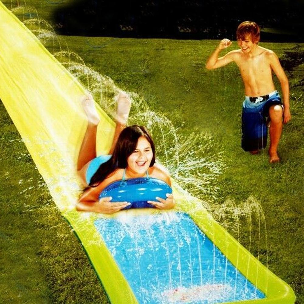 Single Slip N Slide Kids Fun Water 450x4cm