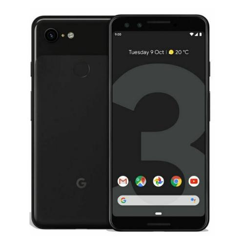 Google Pixel 3 - Black 64GB - Good Condition Refurbished Unlocked