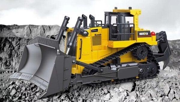 RC Bulldozer 1:16 Construction Scale Model Huina 1569