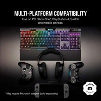 Corsair HS35 Stereo Gaming Headset Carbon Discord Certified for PC Mac Xbox One