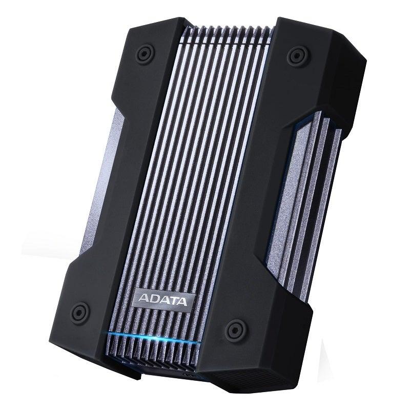 Adata AHD830-4TU31-CBK 4TB HD830 External Hard Drive Disk Military-Grade Toughness HDD Black