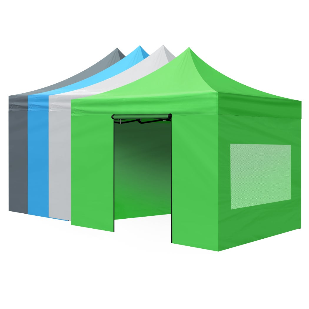 Mountview Gazebo Marquee Gazebos Tent 3x3 Camping Outdoor Canopy Mesh Side Wall