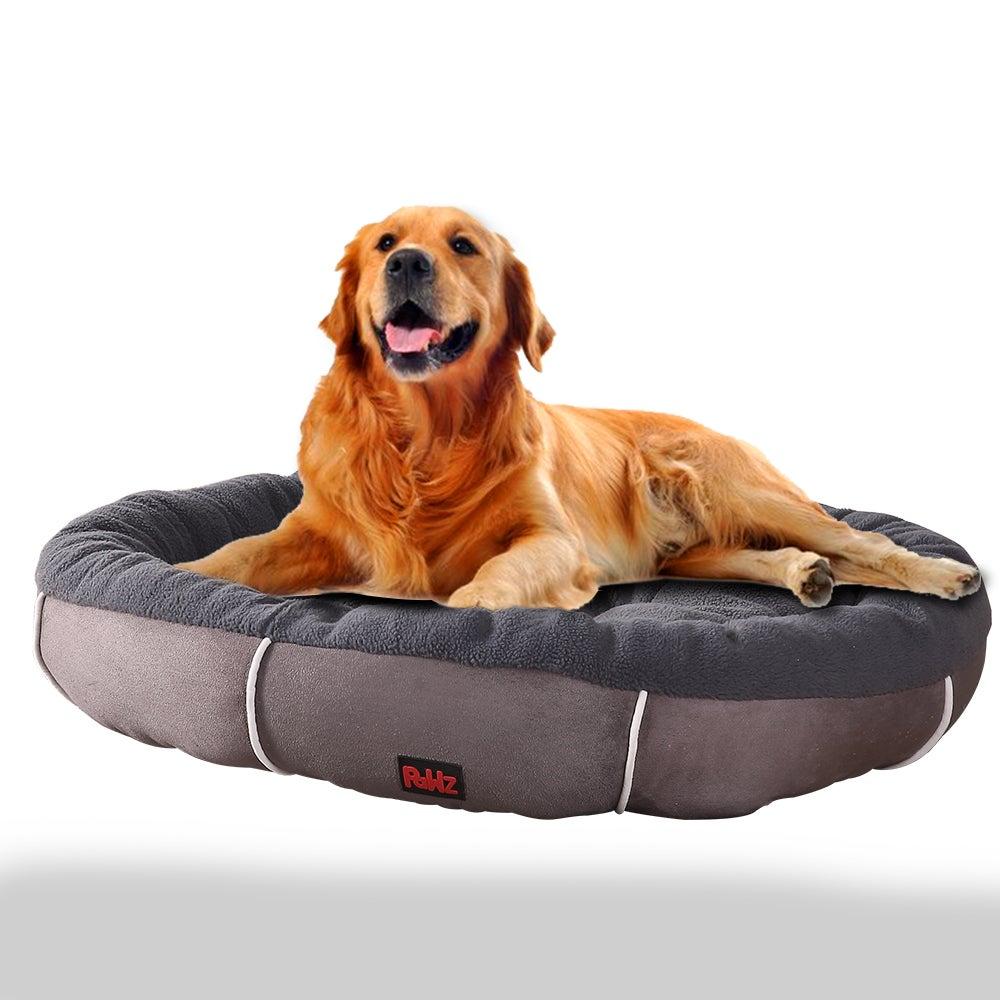 PaWz Waterproof Heavy Duty Soft Pet Bed Grey