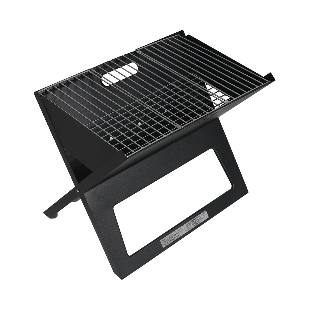 Protable Charcoal BBQ Grill Outdoor Camping Barbecue Set Picnic Foldable Grills