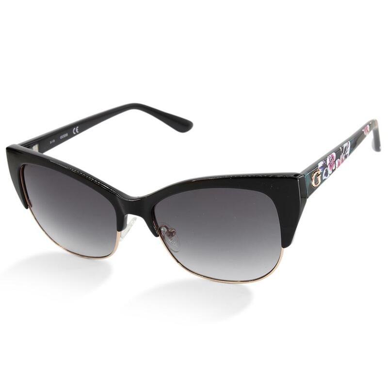 Guess GU7523 05B Black/Grey Gradient Women's Designer Sunglasses