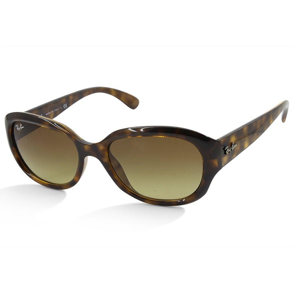 Ray-Ban RB4198 710/85 Brown Tortoise/Brown Gradient Women's Fashion Sunglasses