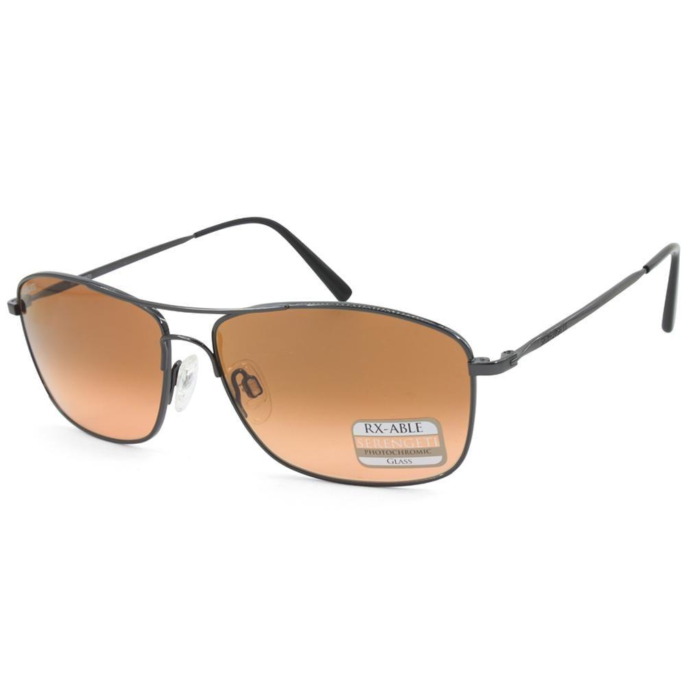 Serengeti Corleone 8694 Shiny Gunmetal/Drivers Gradient Men's Photochromatic Sunglasses
